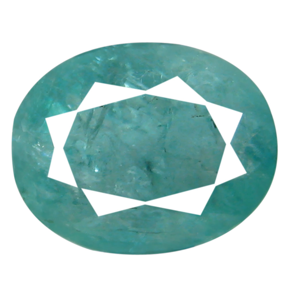 1.91 ct AAA Magnificent fire Oval Shape (9 x 7 mm) Greenish Blue Grandidierite Natural Gemstone