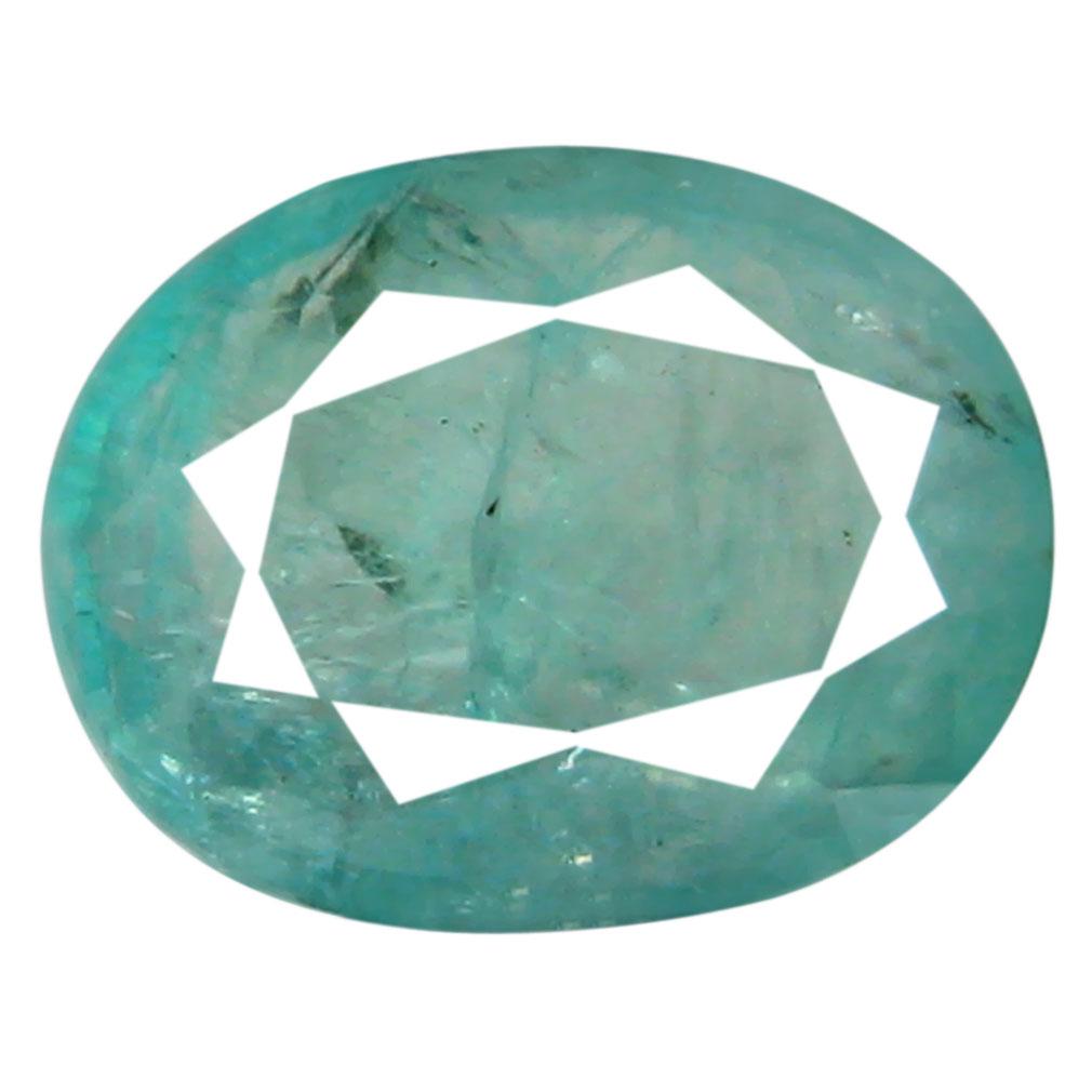1.56 ct AAA Wonderful Oval Shape (9 x 7 mm) Greenish Blue Grandidierite Natural Gemstone