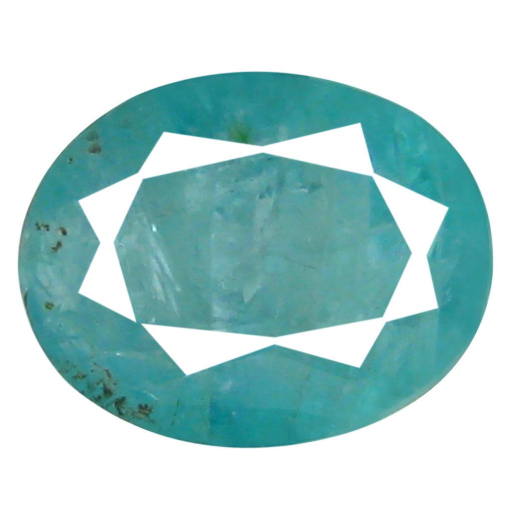 1.49 ct AAA Premium Oval Shape (8 x 6 mm) Greenish Blue Grandidierite Natural Gemstone