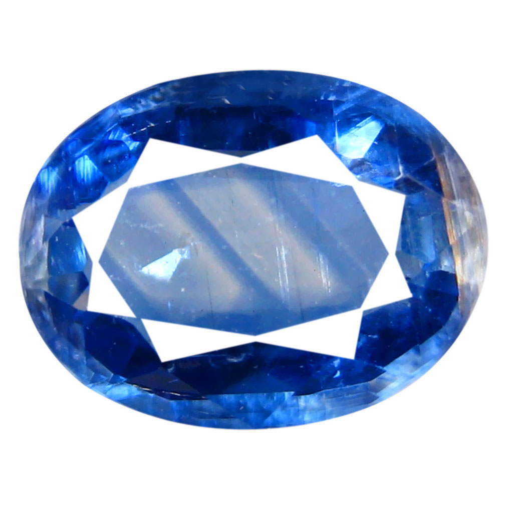 1.84 ct AA+ Valuable Oval Shape (9 x 7 mm) Blue Kyanite Natural Gemstone
