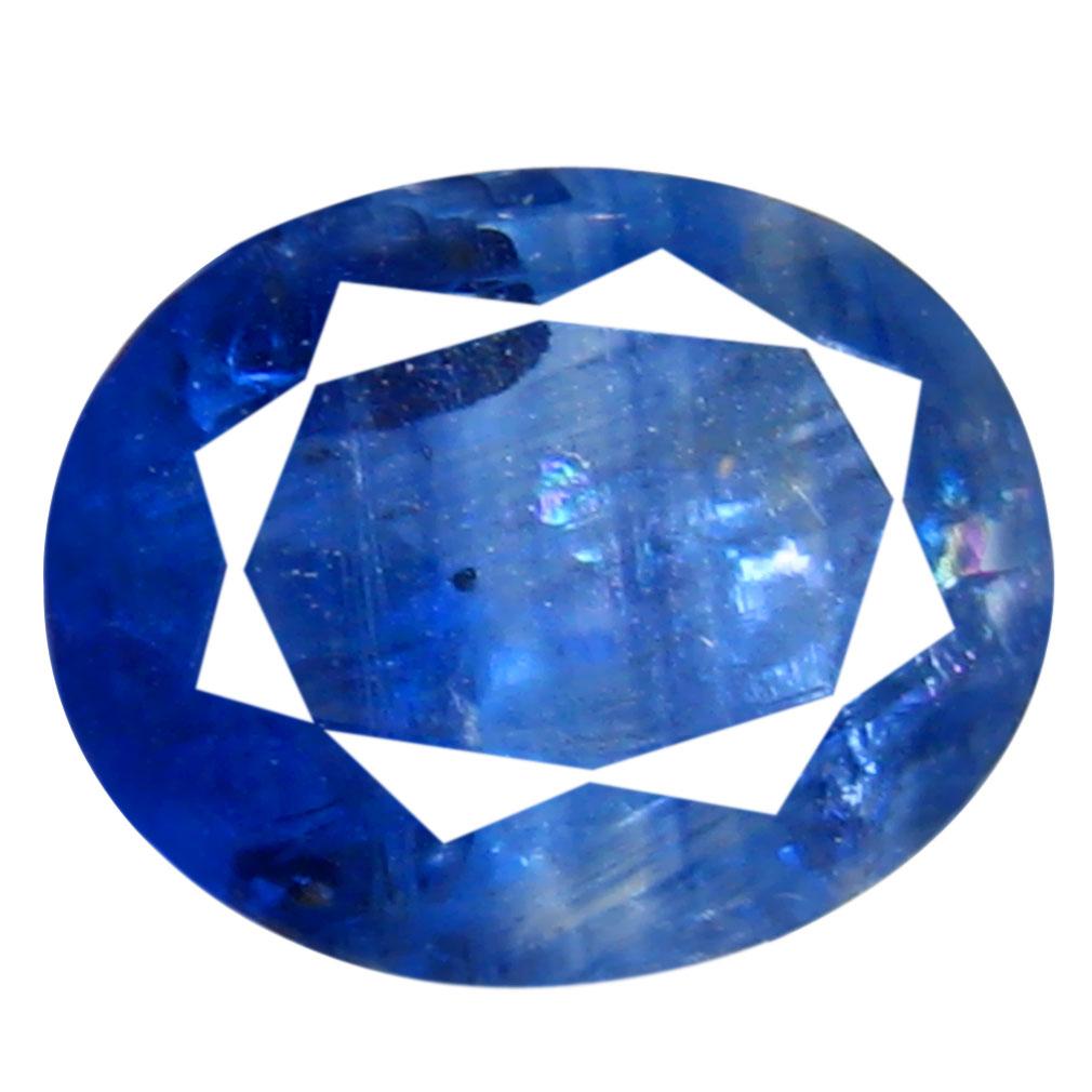 2.52 ct AA+ Astonishing Oval Shape (9 x 7 mm) Blue Kyanite Natural Gemstone