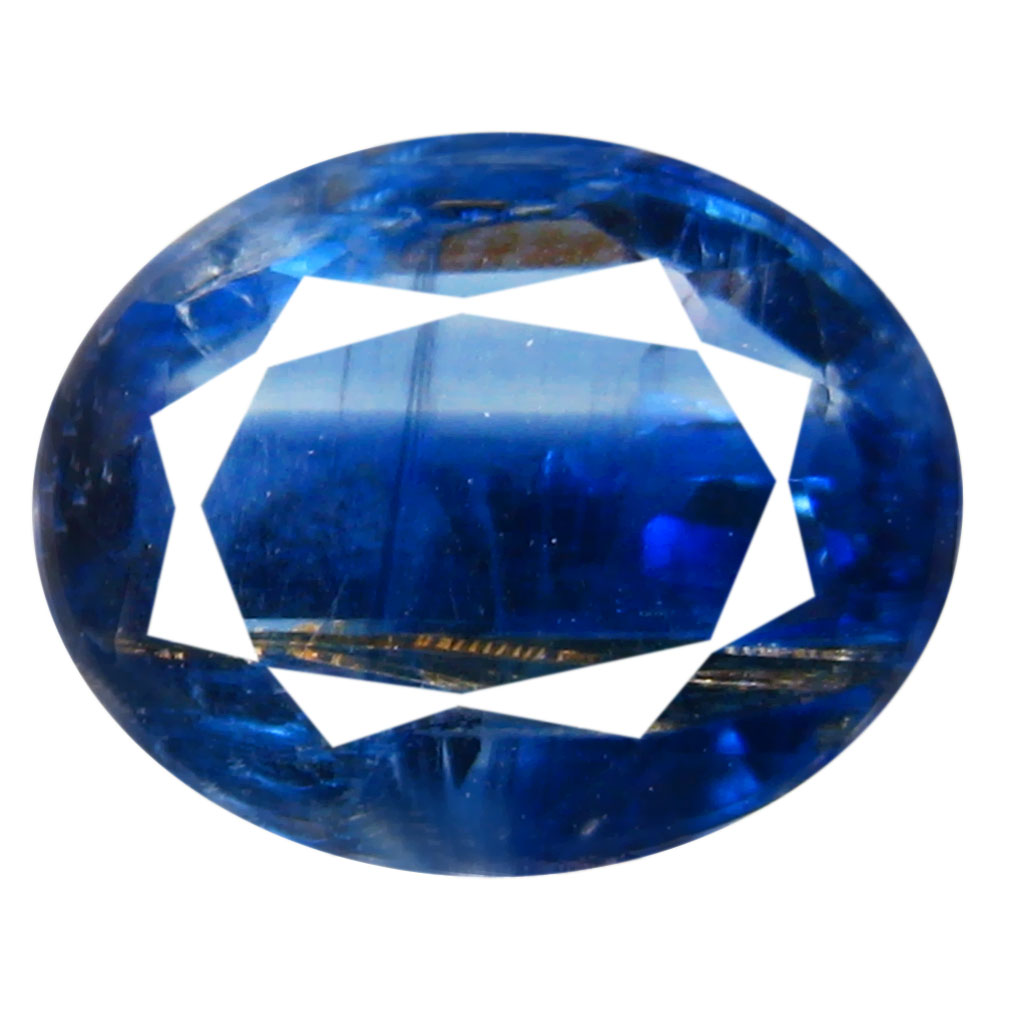 2.14 ct AA+ Gorgeous Oval Shape (9 x 7 mm) Blue Kyanite Natural Gemstone