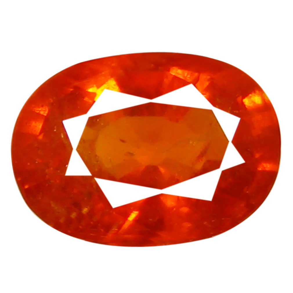 1.25 ct AAA Amazing Oval Shape (7 x 5 mm) Fanta Orange Spessartine Natural Gemstone
