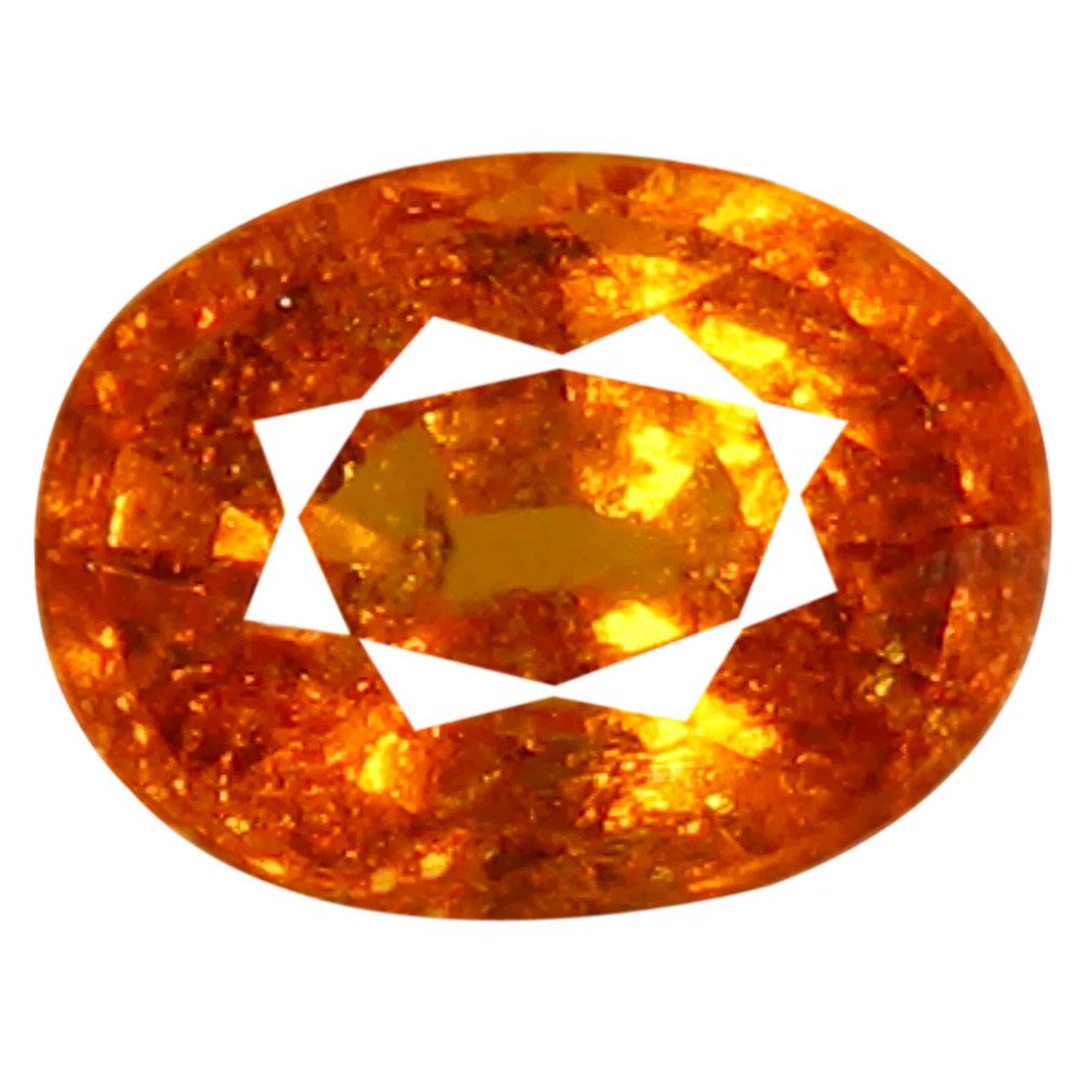 1.45 ct AAA Mind-Boggling Oval Shape (7 x 5 mm) Fanta Orange Spessartine Natural Gemstone