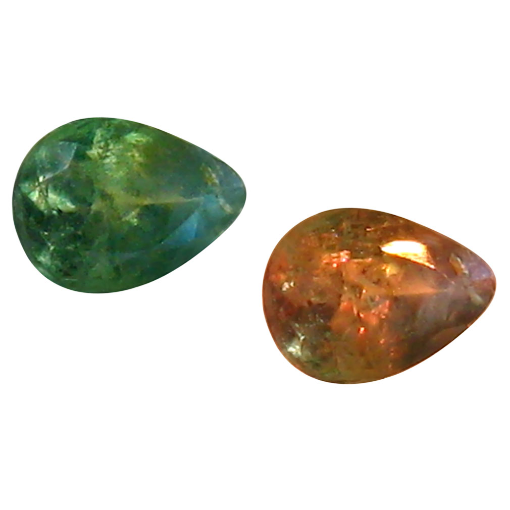 0.22 ct Beautiful Pear Shape (4 x 3 mm) Un-Heated Color Change Alexandrite Natural Gemstone