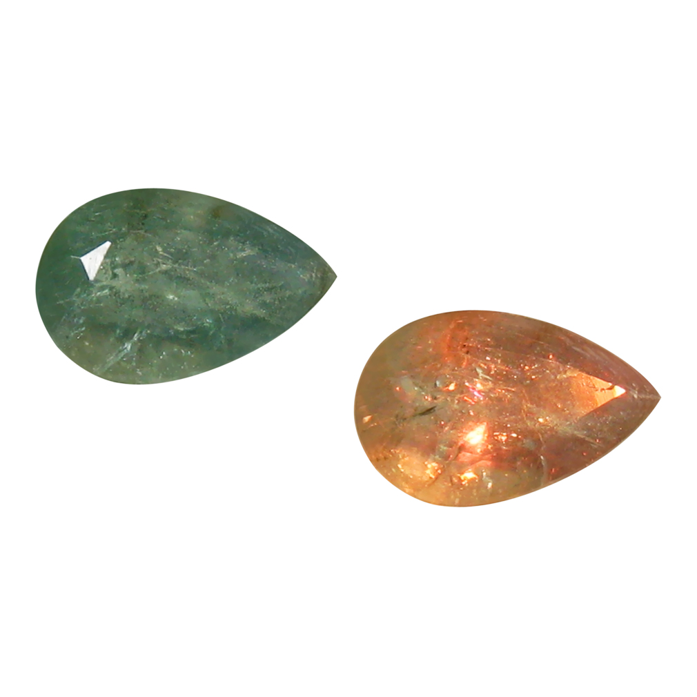 0.50 ct GREAT LOOKING PEAR SHAPE (6 X 4 MM) UN-HEATED COLOR CHANGE ALEXANDRITE NATURAL GEMSTONE