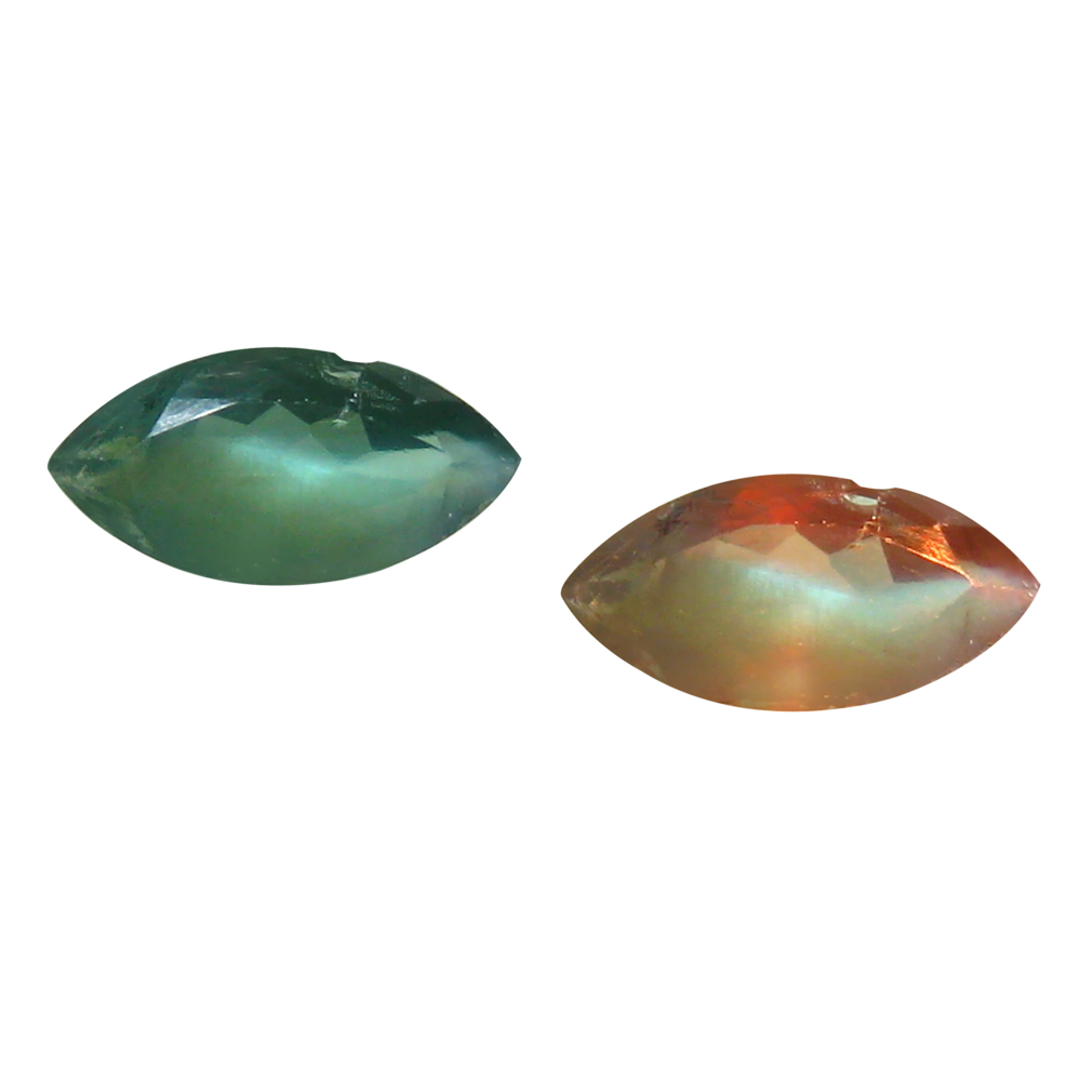 0.40 ct EYE-POPPING MARQUISE SHAPE (7 X 3 MM) UN-HEATED COLOR CHANGE ALEXANDRITE NATURAL GEMSTONE