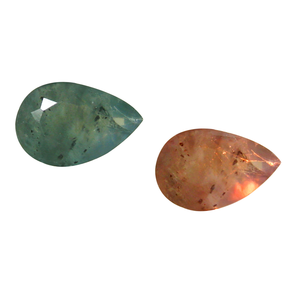 0.41 ct GREAT LOOKING PEAR SHAPE (6 X 4 MM) UN-HEATED COLOR CHANGE ALEXANDRITE NATURAL GEMSTONE
