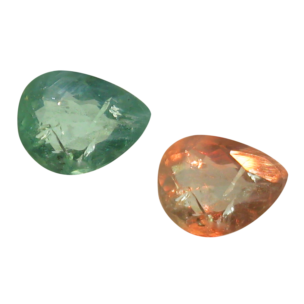 0.39 ct SIGNIFICANT PEAR SHAPE (5 X 4 MM) UN-HEATED COLOR CHANGE ALEXANDRITE NATURAL GEMSTONE