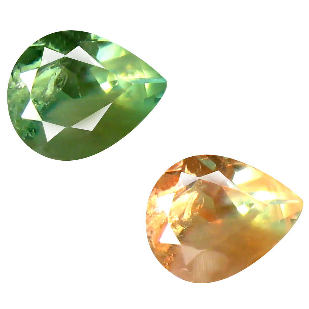 0.39 ct LOVELY PEAR SHAPE (5 X 4 MM) UN-HEATED COLOR CHANGE ALEXANDRITE NATURAL GEMSTONE