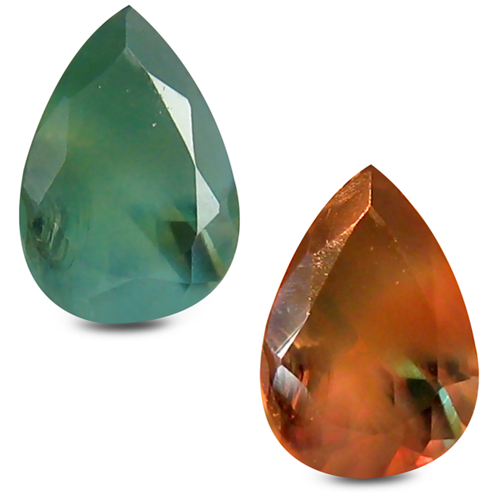 0.44 ct Spectacular Pear Shape (6 x 4 mm) Un-Heated Color Change Alexandrite Natural Gemstone