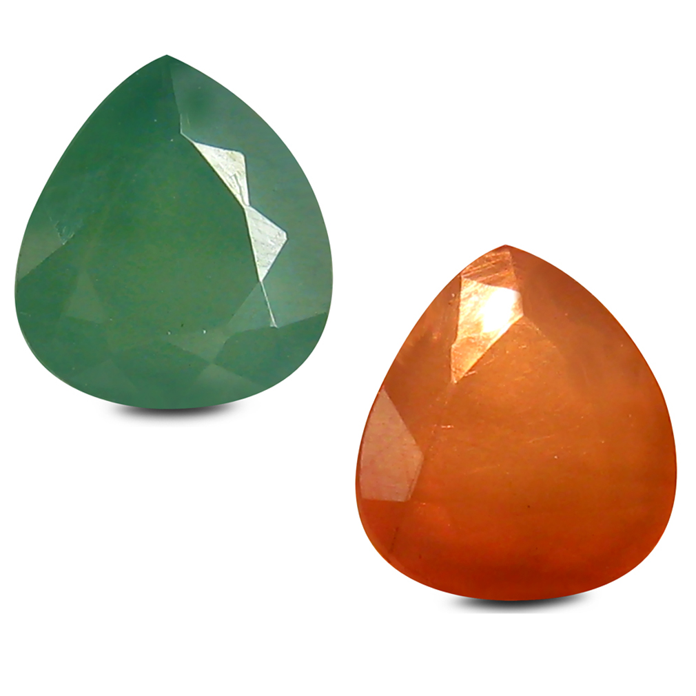 0.60 ct Great looking Pear Shape (5 x 5 mm) Un-Heated Color Change Alexandrite Natural Gemstone