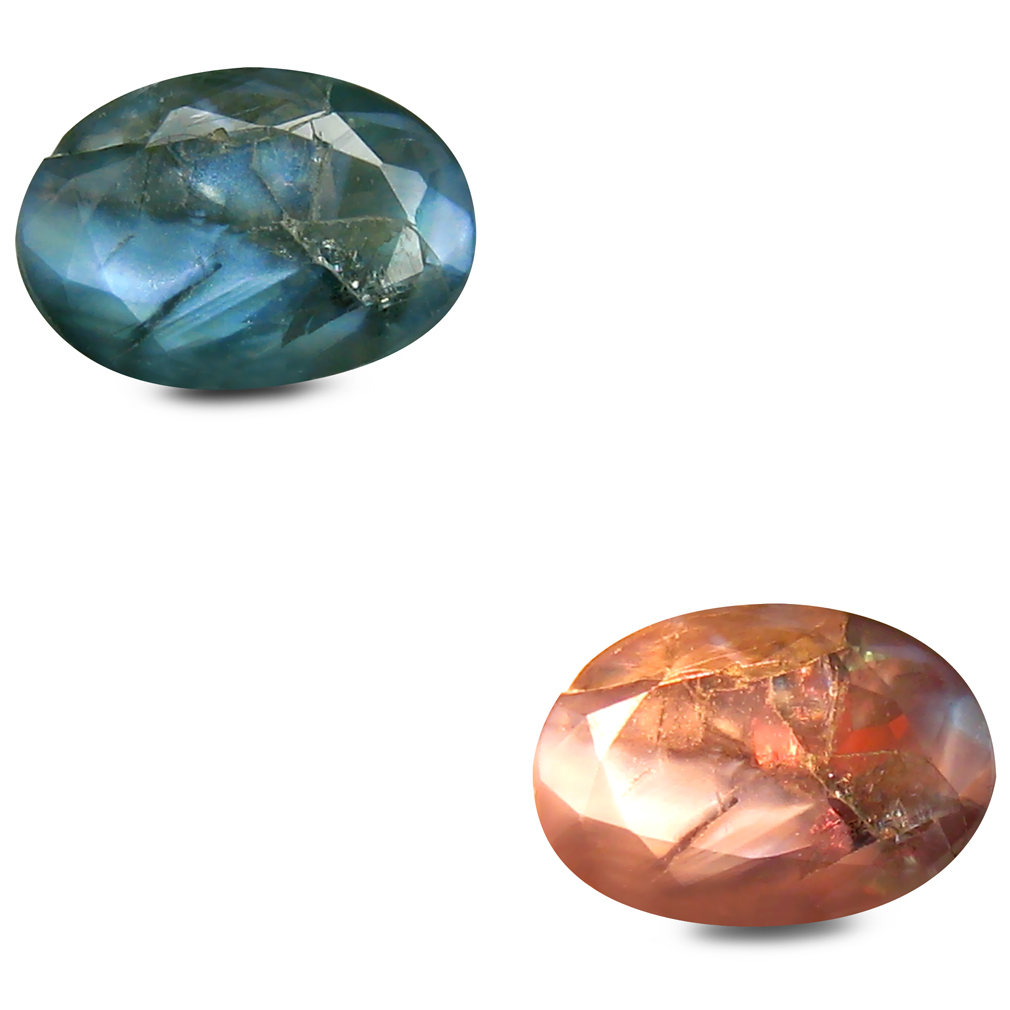 0.86 ct Remarkable Oval Shape (7 x 5 mm) Un-Heated Color Change Alexandrite Natural Gemstone