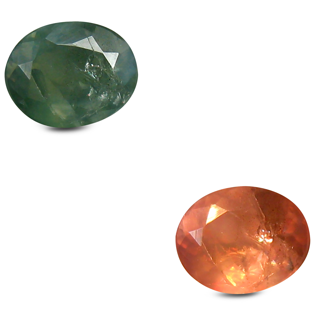 0.65 ct Impressive Oval Shape (6 x 5 mm) Un-Heated Color Change Alexandrite Natural Gemstone