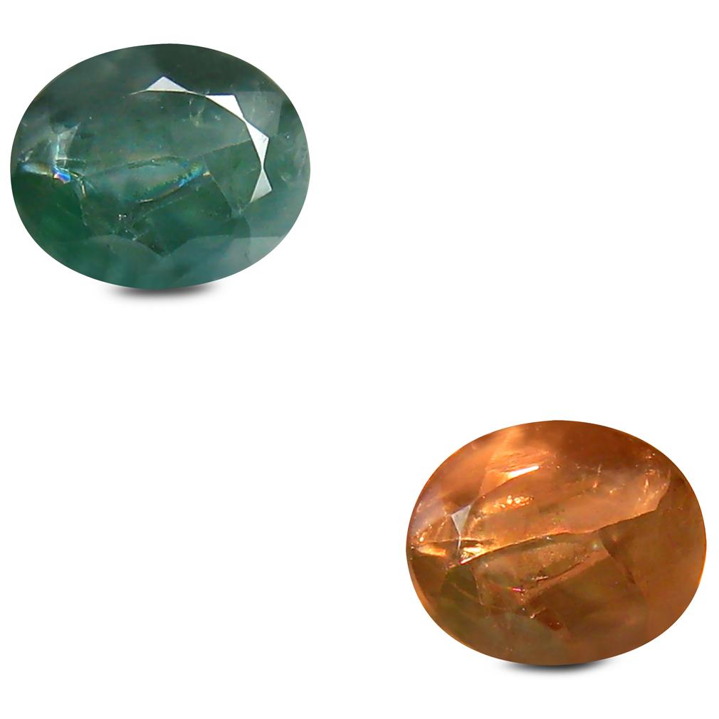 0.93 ct Tremendous Oval Shape (6 x 5 mm) Un-Heated Color Change Alexandrite Natural Gemstone
