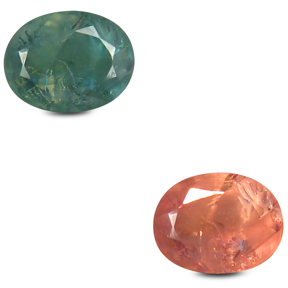 0.46 ct Spectacular Oval Shape (5 x 4 mm) Un-Heated Color Change Alexandrite Natural Gemstone