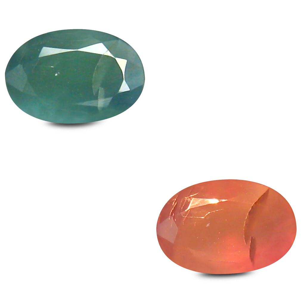 0.46 ct Remarkable Oval Shape (6 x 4 mm) Un-Heated Color Change Alexandrite Natural Gemstone