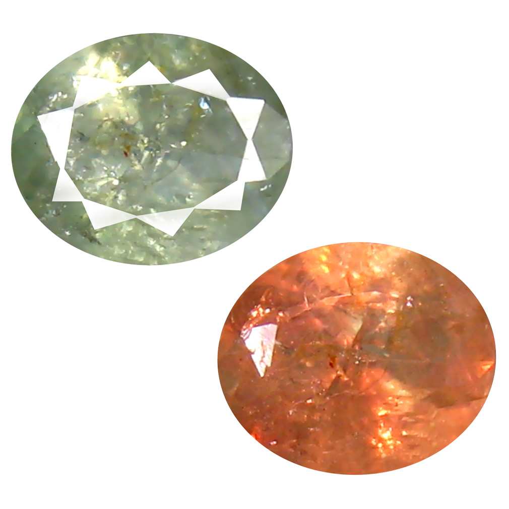 0.75 ct MAGNIFICENT FIRE OVAL SHAPE (6 X 5 MM) 100% NATURAL (UN-HEATED) COLOR CHANGE ALEXANDRITE NATURAL GEMSTONE