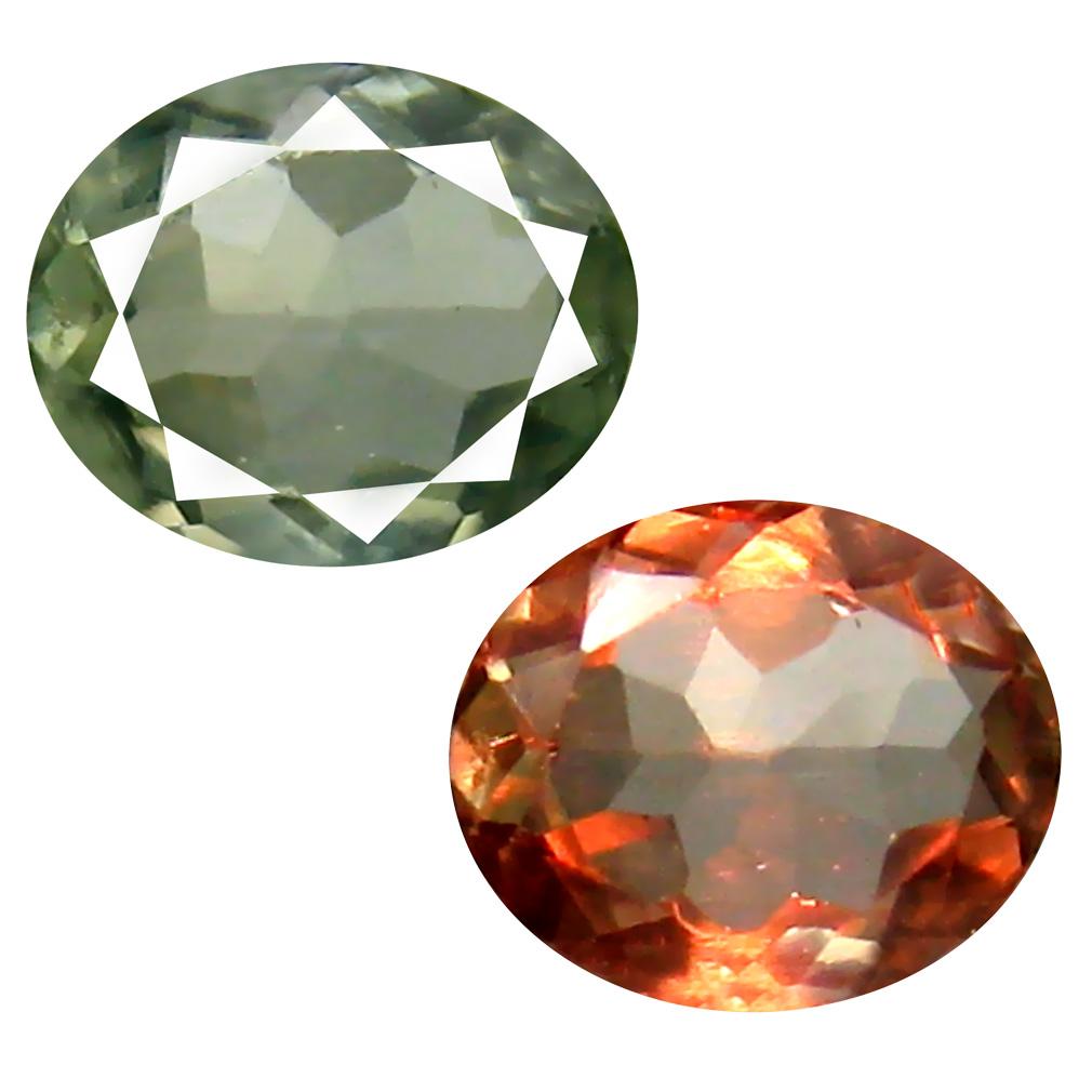 0.65 ct Unbelievable Oval Cut (6 x 5 mm) Un-Heated Green Alexandrite Natural Gemstone