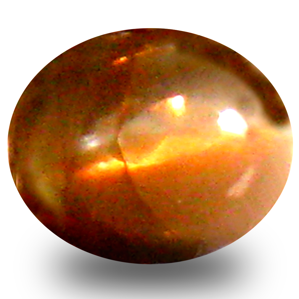 0.47 ct Pleasant Oval Cabochon Shape (5 x 4 mm) Un-Heated Color Change Alexandrite Cat's Eye Natural Gemstone