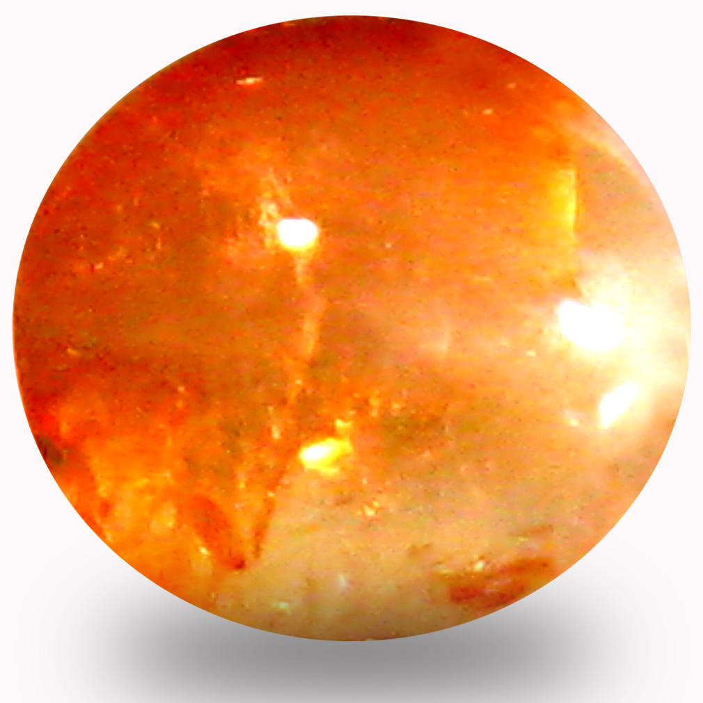 0.82 ct Valuable Cabochon Shape (6 x 6 mm) Un-Heated Color Change Alexandrite Cat's Eye Natural Gemstone