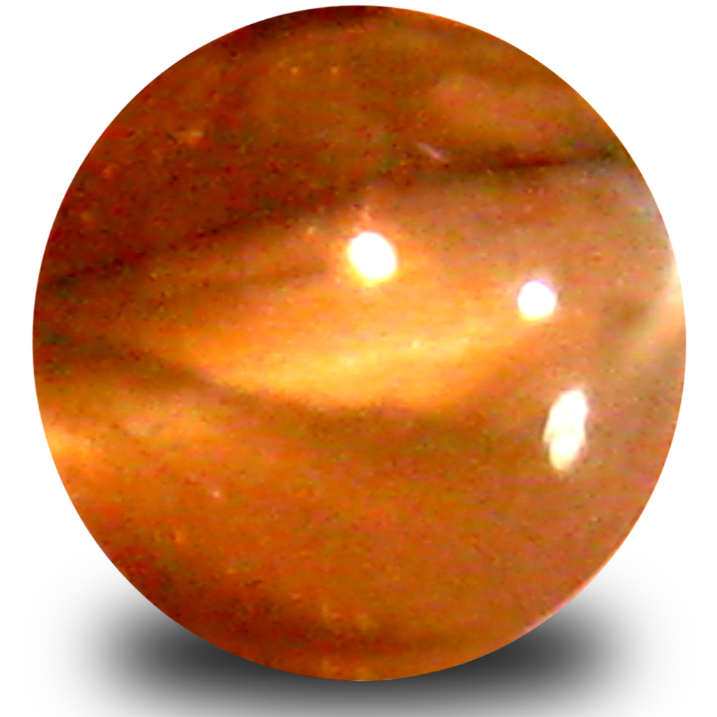 0.59 ct Valuable Cabochon Shape (5 x 5 mm) Un-Heated Color Change Alexandrite Cat's Eye Natural Gemstone