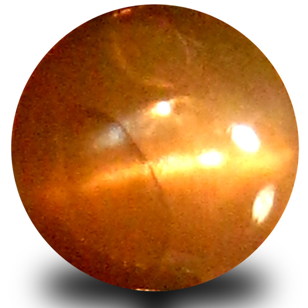 0.74 ct Dazzling Cabochon Shape (5 x 5 mm) Un-Heated Color Change Alexandrite Cat's Eye Natural Gemstone