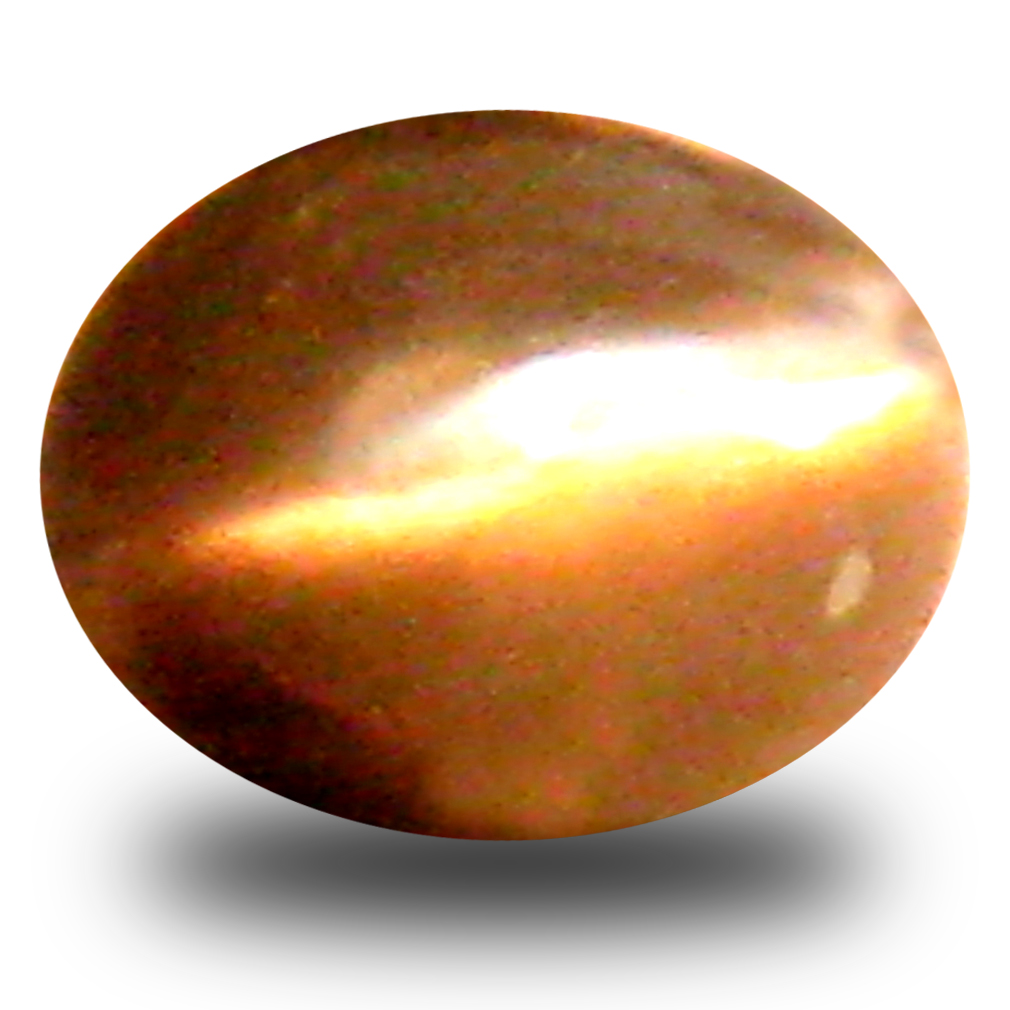 0.56 ct Fabulous Oval Cabochon Shape (5 x 4 mm) Un-Heated Color Change Alexandrite Cat's Eye Natural Gemstone
