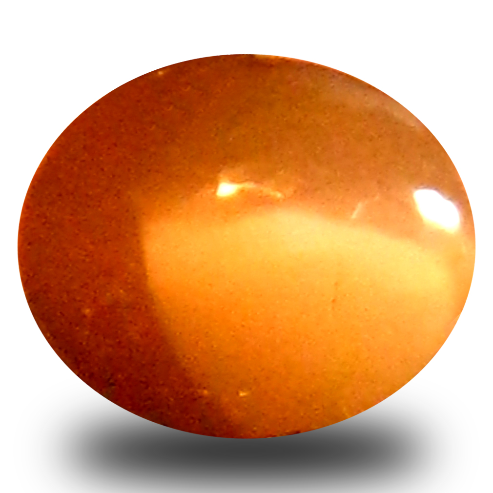 0.44 ct Resplendent Oval Cabochon Shape (5 x 4 mm) Un-Heated Color Change Alexandrite Cat's Eye Natural Gemstone