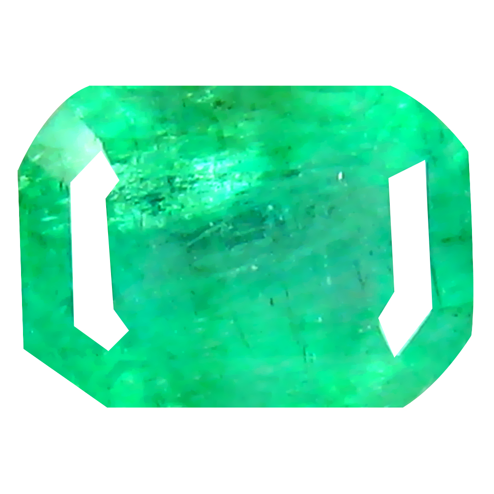 0.67 ct Charming Octagon Cut (6 x 4 mm) Colombian Emerald Natural Gemstone