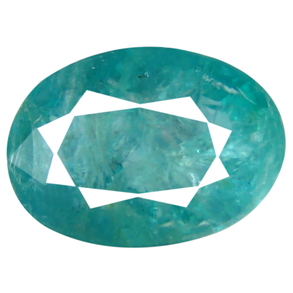 1.55 ct Magnificent Oval Cut (9 x 7 mm) Unheated / Untreated Greenish Blue Grandidierite Natural Gemstone