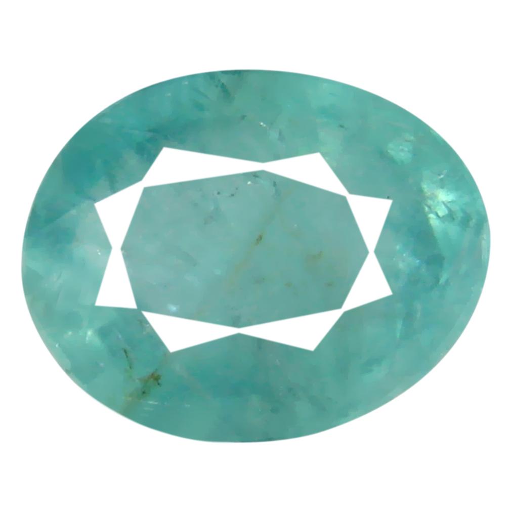 0.71 ct Very good Oval Cut (7 x 5 mm) Unheated / Untreated Greenish Blue Grandidierite Natural Gemstone