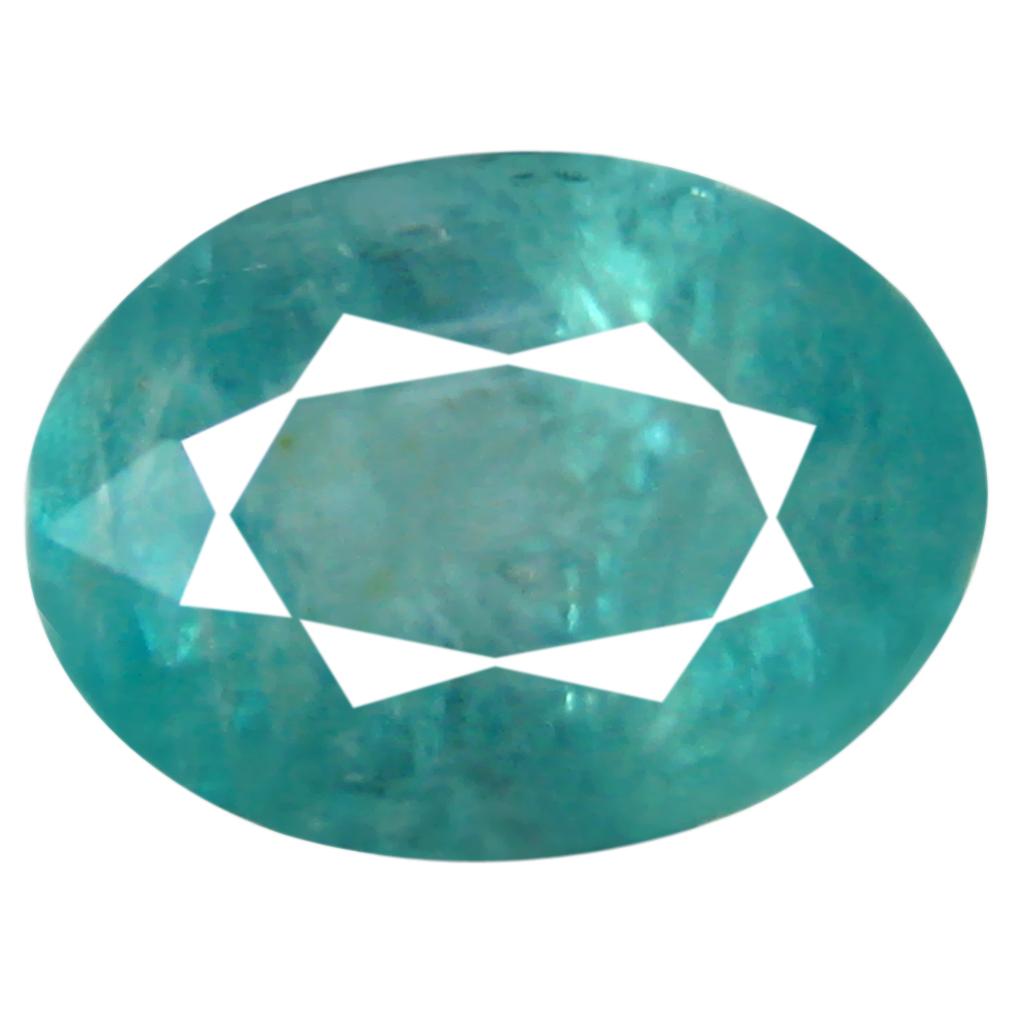 0.83 ct Valuable Oval Cut (7 x 5 mm) Unheated / Untreated Greenish Blue Grandidierite Natural Gemstone