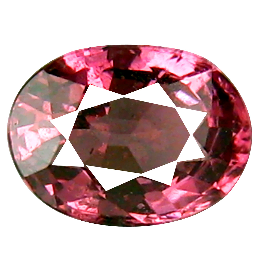 0.88 ct Pretty Oval Cut (6 x 5 mm) Tanzania Pink Malaya Garnet Natural Gemstone