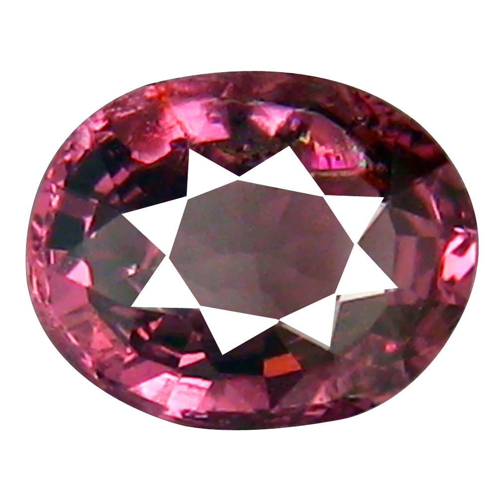 1.25 ct Magnificent fire Oval Cut (7 x 6 mm) Tanzania Pink Malaya Garnet Natural Gemstone