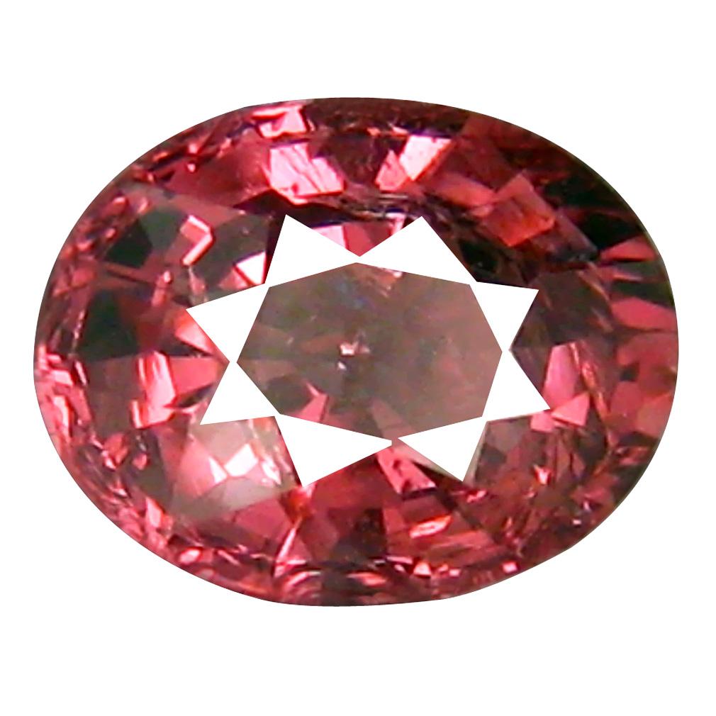 1.30 ct Lovely Oval Cut (7 x 6 mm) Tanzania Pink Malaya Garnet Natural Gemstone