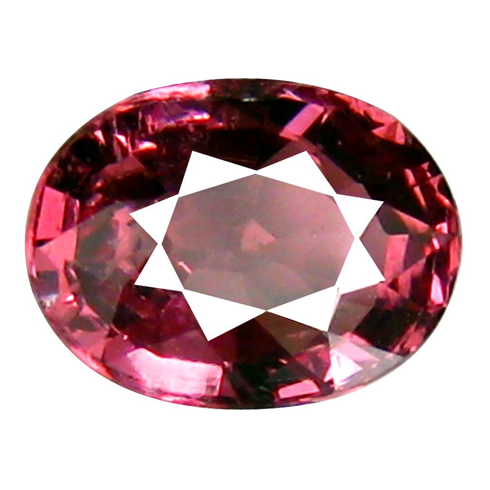 1.35 ct Amazing Oval Cut (7 x 5 mm) Tanzania Pink Malaya Garnet Natural Gemstone