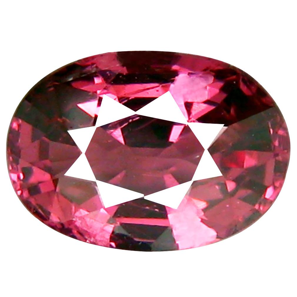 1.44 ct Topnotch Oval Cut (8 x 6 mm) Tanzania Pink Malaya Garnet Natural Gemstone