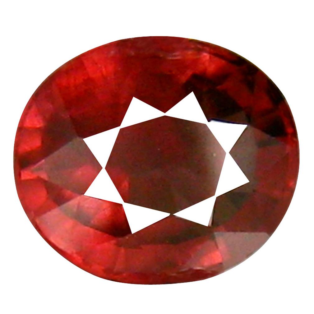 1.48 ct Superb Oval Cut (7 x 6 mm) Tanzania Pink Malaya Garnet Natural Gemstone