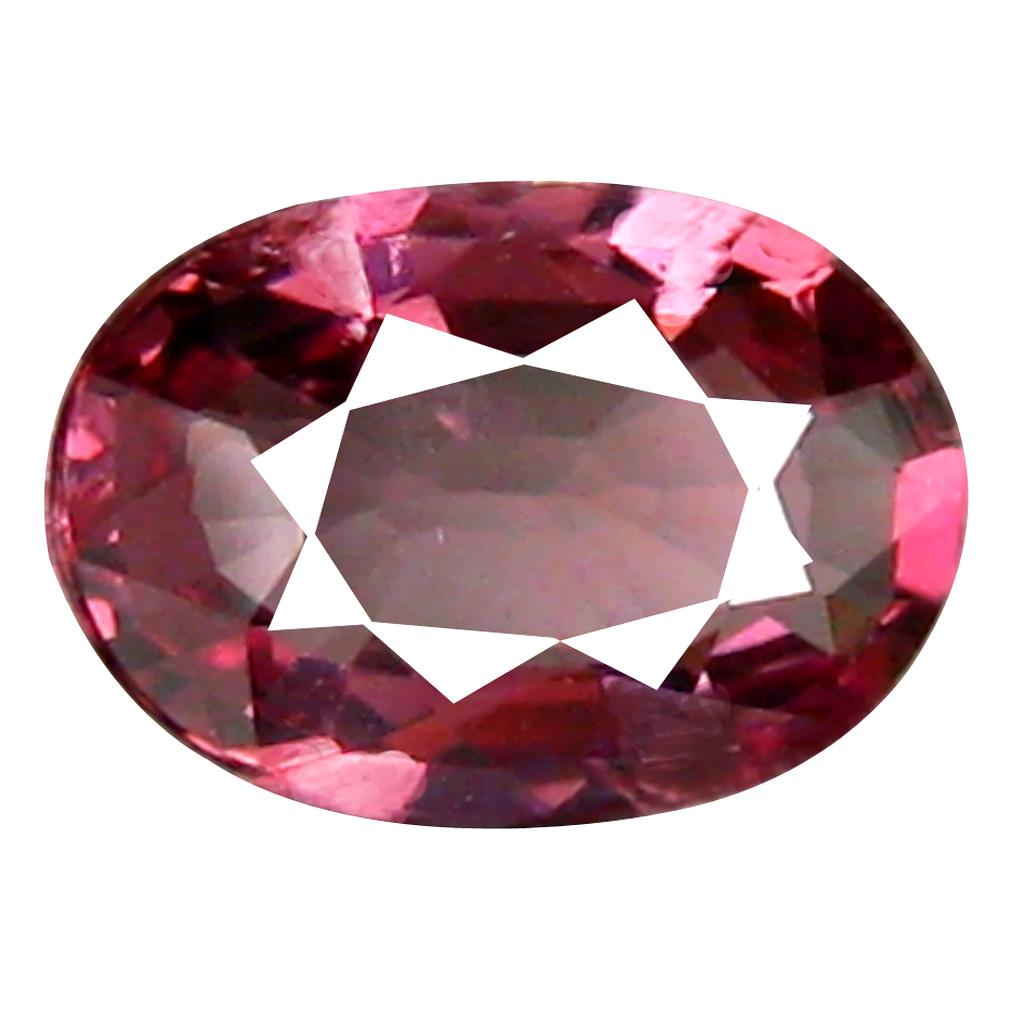 0.80 ct Fair Oval Cut (7 x 5 mm) Tanzania Pink Malaya Garnet Natural Gemstone