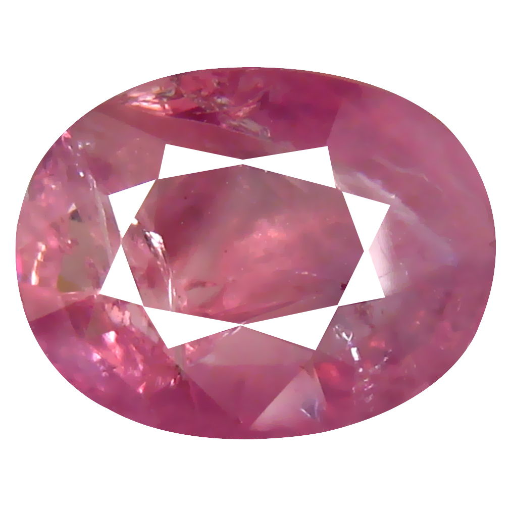 3.04 ct Best Oval Cut (10 x 8 mm) Un-Heated Pink Sapphire Natural Gemstone