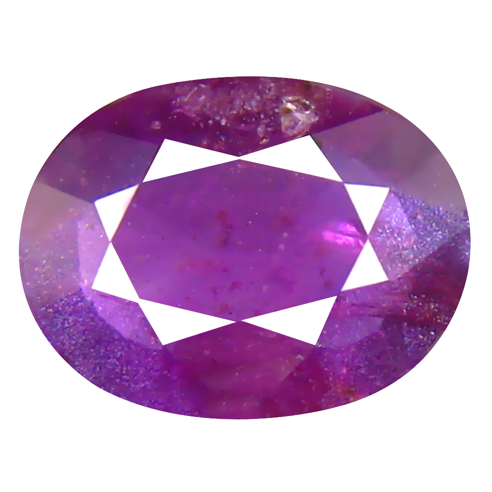 1.59 ct Pretty Oval Cut (9 x 7 mm) Un-Heated Pink Sapphire Natural Gemstone
