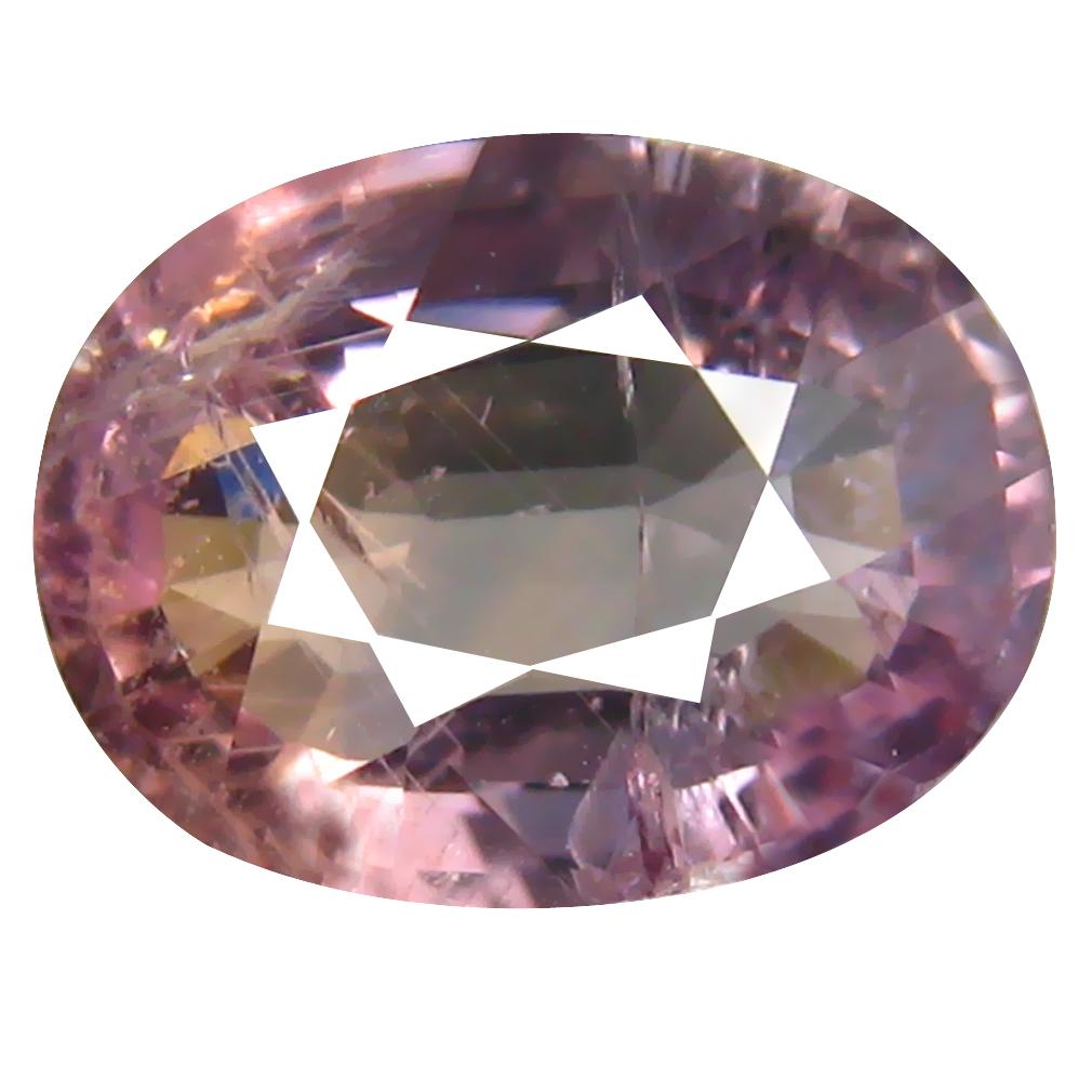 2.77 ct Flashing Oval Cut (9 x 7 mm) Un-Heated Greenish Yellow Sapphire Natural Gemstone
