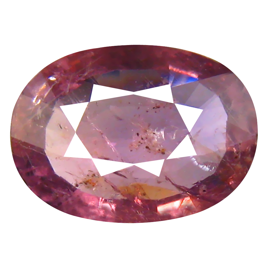 2.59 ct Significant Oval Cut (11 x 8 mm) Un-Heated Purplish Pink Sapphire Natural Gemstone