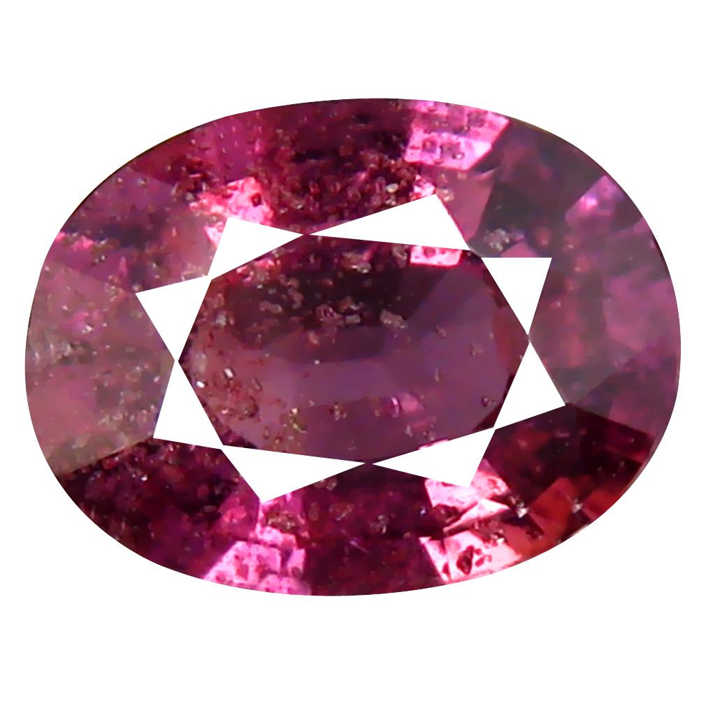 2.28 ct Stunning Oval Cut (9 x 7 mm) Un-Heated Purplish Pink Sapphire Natural Gemstone