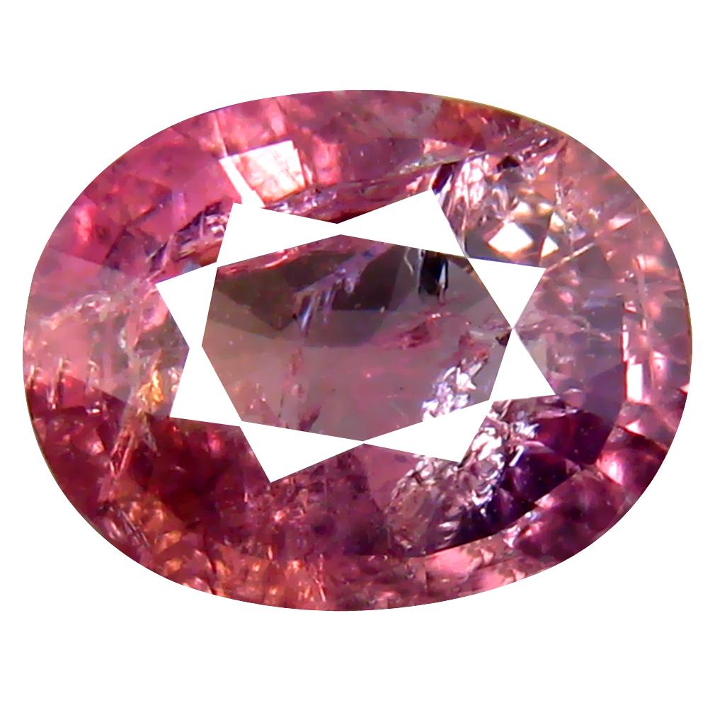 2.86 ct Mind-Boggling Oval Cut (10 x 8 mm) Un-Heated Purplish Pink Sapphire Natural Gemstone