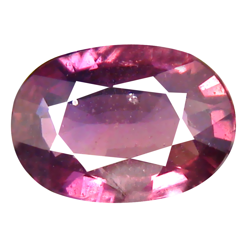 1.37 ct Splendid Oval Cut (8 x 6 mm) Un-Heated Purplish Pink Sapphire Natural Gemstone