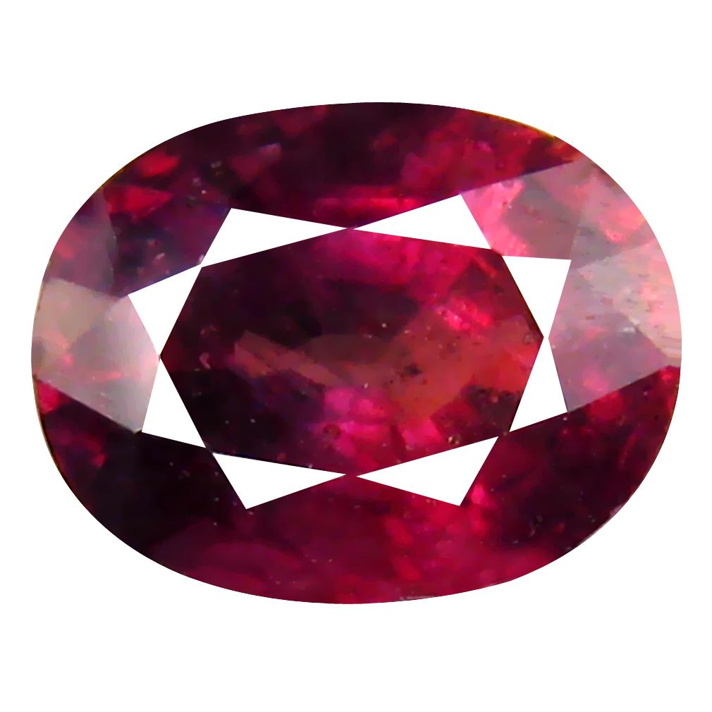 2.26 ct Impressive Oval Cut (8 x 6 mm) Un-Heated Reddish Pink Sapphire Natural Gemstone