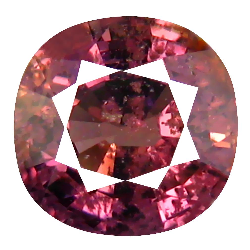 1.74 ct Eye-opening Oval Cut (7 x 7 mm) Un-Heated Purplish Pink Sapphire Natural Gemstone