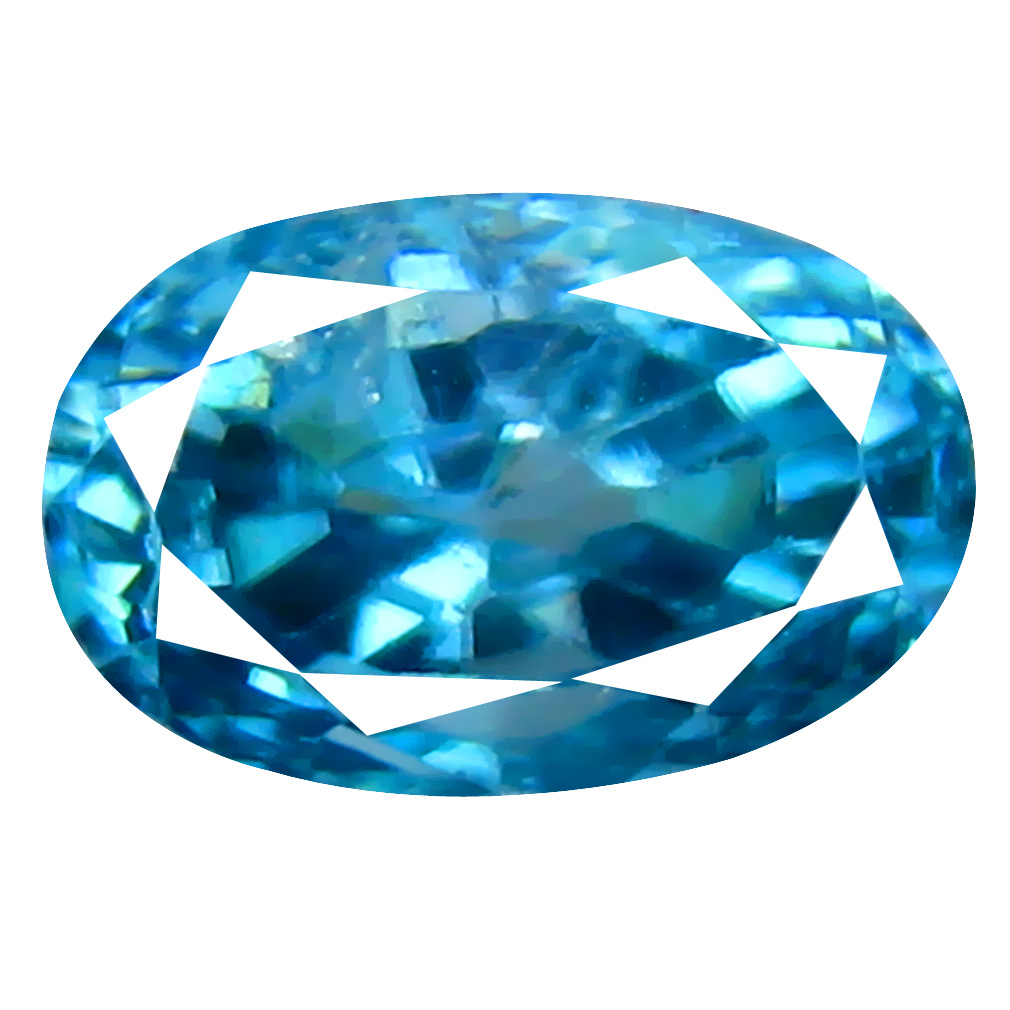 2.10 ct Unbelievable Oval Cut (7 x 5 mm) Cambodian Blue Zircon Natural Loose Gemstone